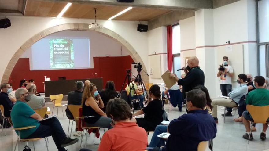 Girona recull propostes per al Pla de transició ecosocial
