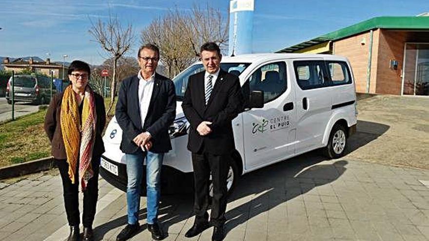 Cotxe elèctric per al Consell del Pla d'Estany