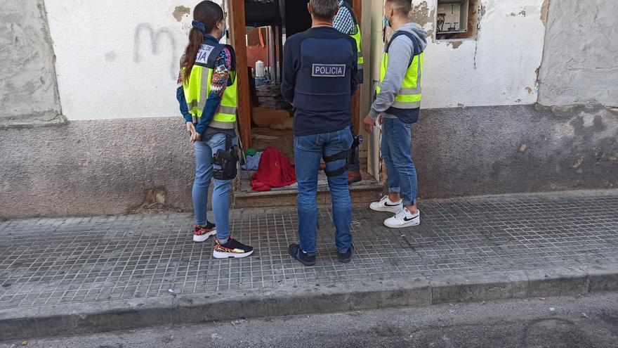 Desmantelan una banda que traía migrantes a Palma y les obligaba a delinquir