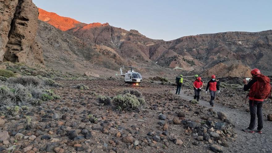 Mueren dos personas en el Parque Nacional del Teide