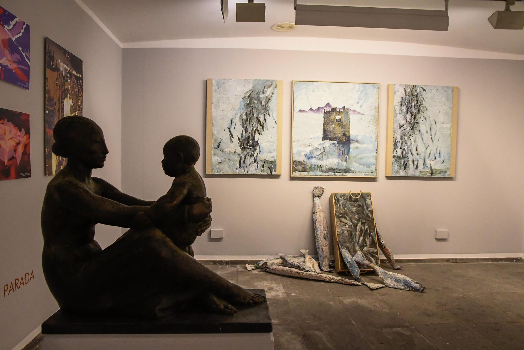 El arte canario homenajea a FélixReyes