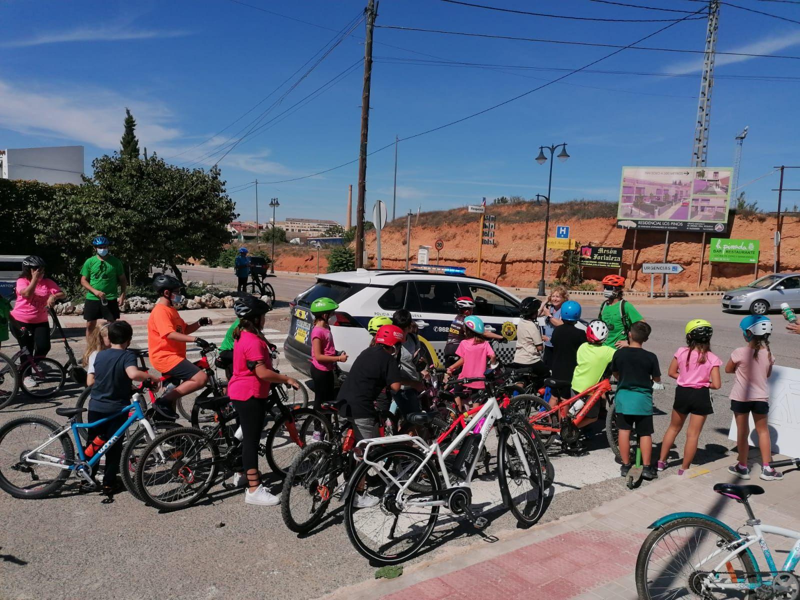 Más de 200 personas participan en las jornadas de Movilidad Sostenible de Requena