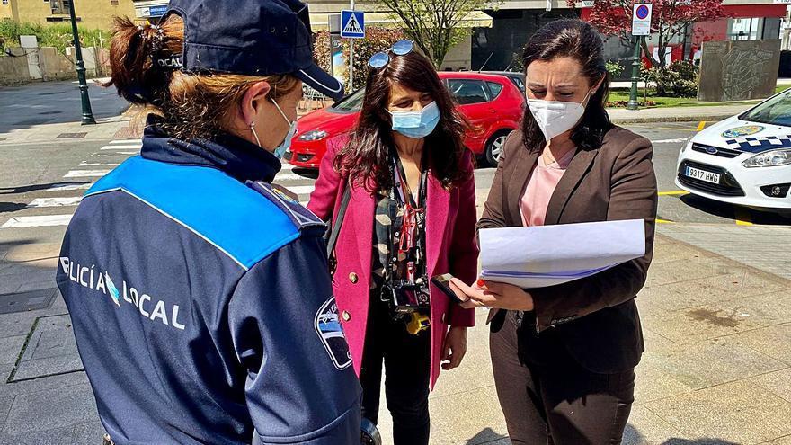Inspección de terrazas en Marín para la renovación de permisos de ocupación de espacio público