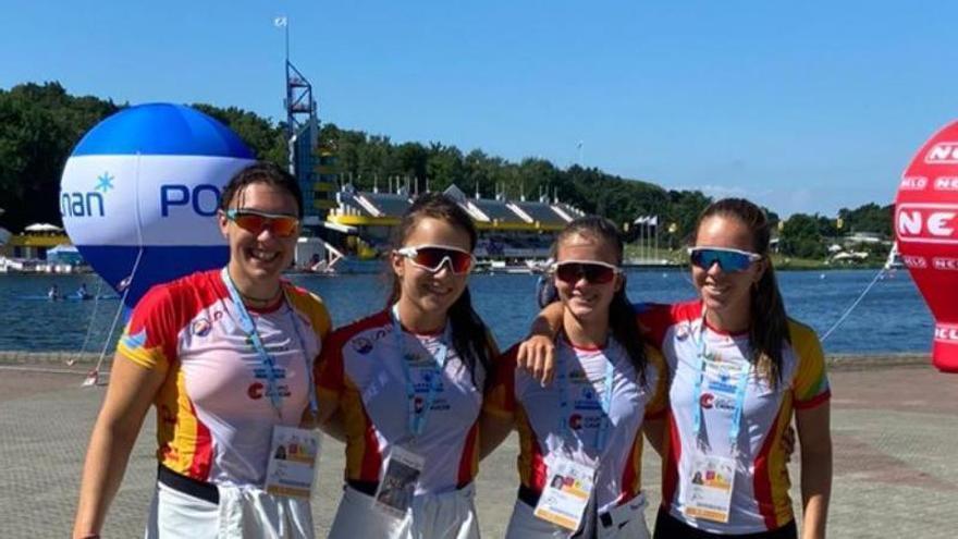 Andrea Rodríguez, Carla Corral y Ernesto Goribar, al Mundial junior de sprint, en Montemor O Velho (Portugal)