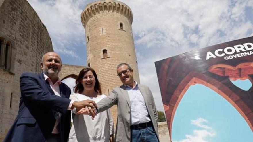 """Der """"Bellver-Pakt"""" soll Mallorca vier Jahre regieren"""