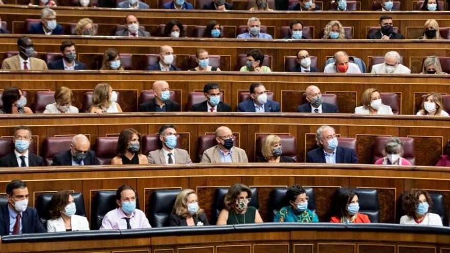 El PSOE omple els escons del Congrés i renuncia al vot telemàtic malgrat les restriccions