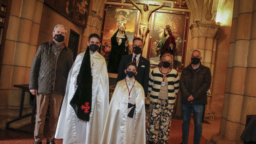 La Semana Santa de Gijón: la Santa Misericordia, orgullosa de su cantera