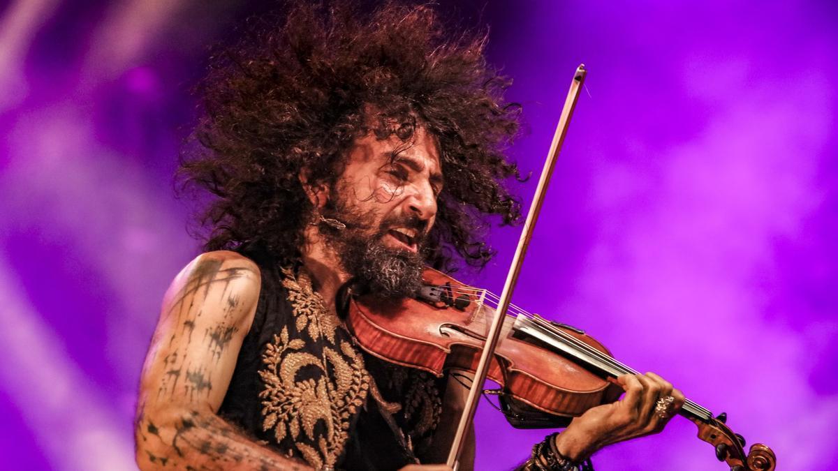 Ara Malikian durante uno de sus conciertos