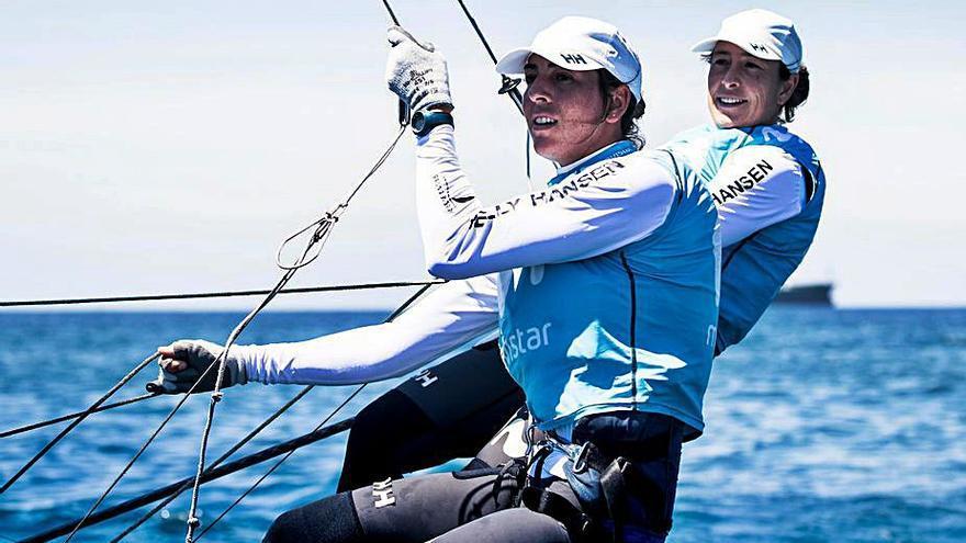 Barceló y Echegoyen finalizan terceras en su ensayo olímpico en Lanzarote