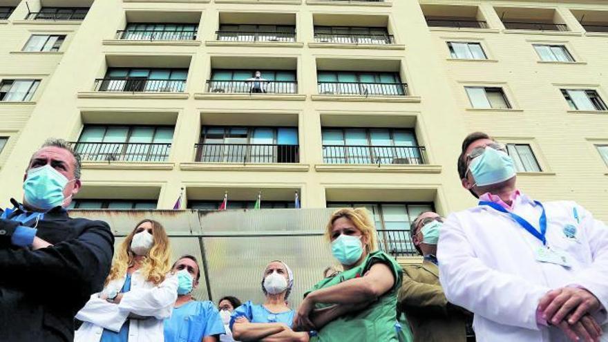 Alarma entre los sanitarios de Málaga por el auge de las amenazas en las redes