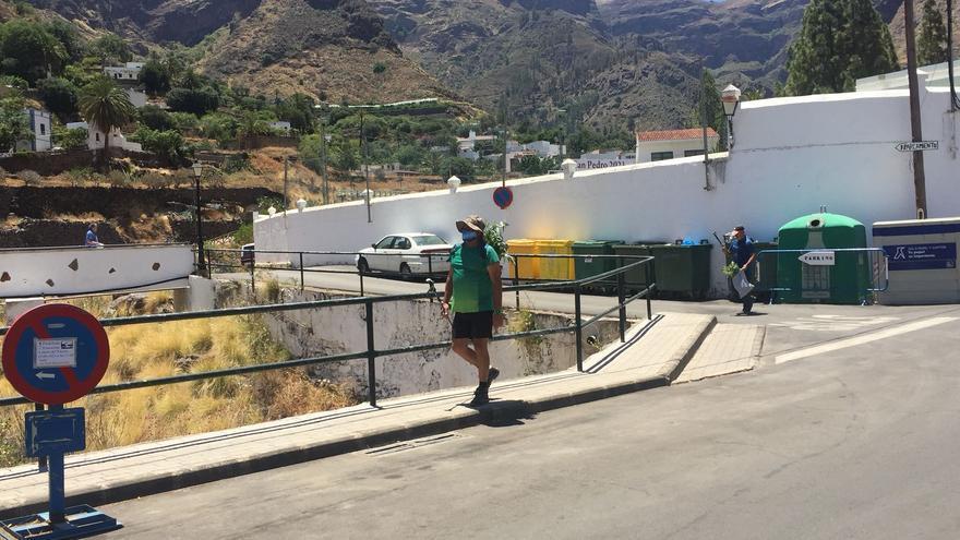 El Valle de Agaete acude a Tamadaba a recoger la rama por las fiestas de San Pedro (28/06/2021)