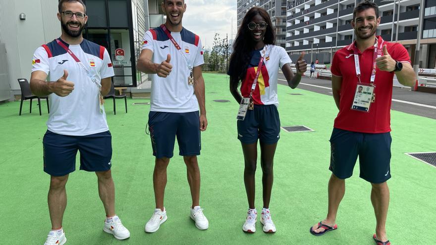 Los atletas valencianos velan armas en Tokio