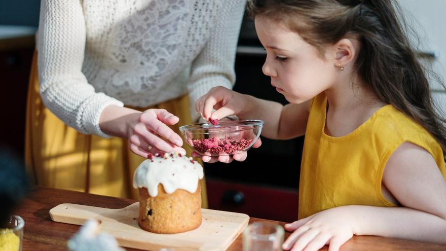 Recetas caseras para hacer con niños: croquetas, pizza y helado