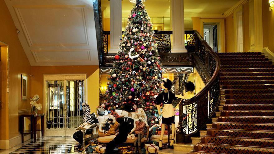 Pasarelas y piezas navideñas
