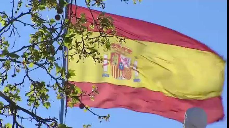 El TC determina que los ultrajes a la bandera de España son delito