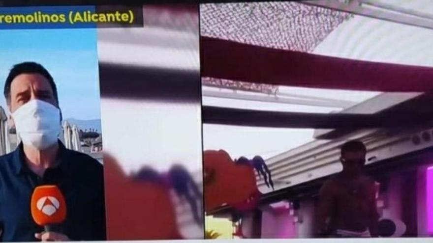 El informativo de Antena 3 sitúa Torremolinos en Alicante
