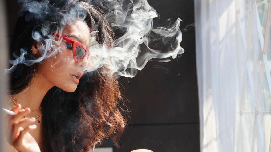 Fumar puede dañar la visión