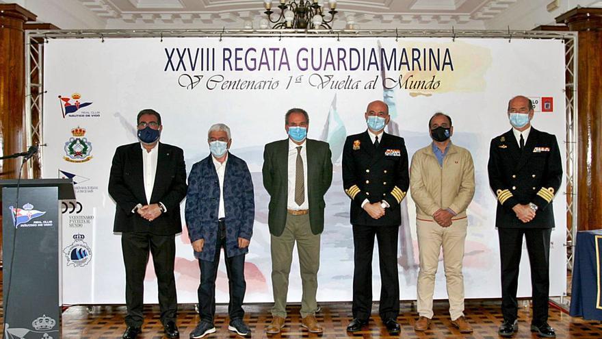 """La regata """"Guardiamarina"""" se celebra este fin de semana entre Marín y Vigo"""