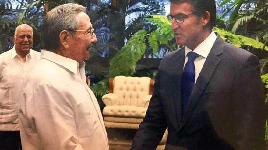 Feijóo y Castro coinciden en fortalecer nexos económicos entre Cuba y  Galicia - Faro de Vigo