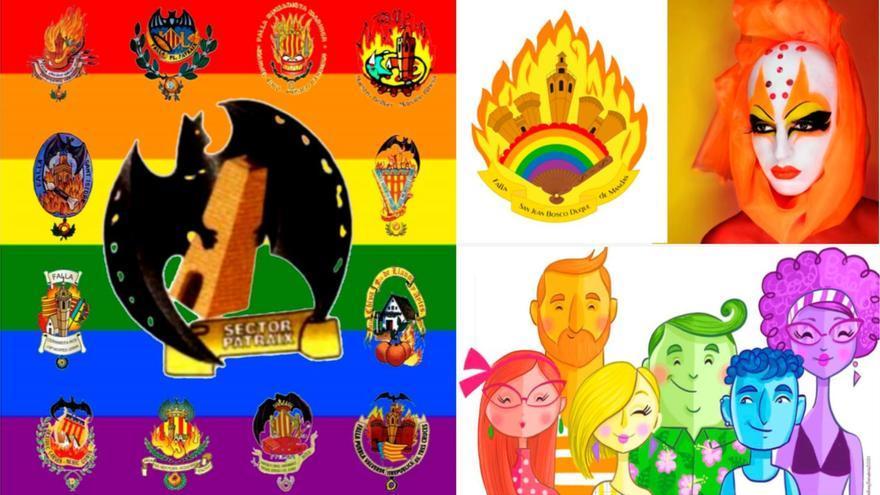Las Fallas celebran el Día del Orgullo