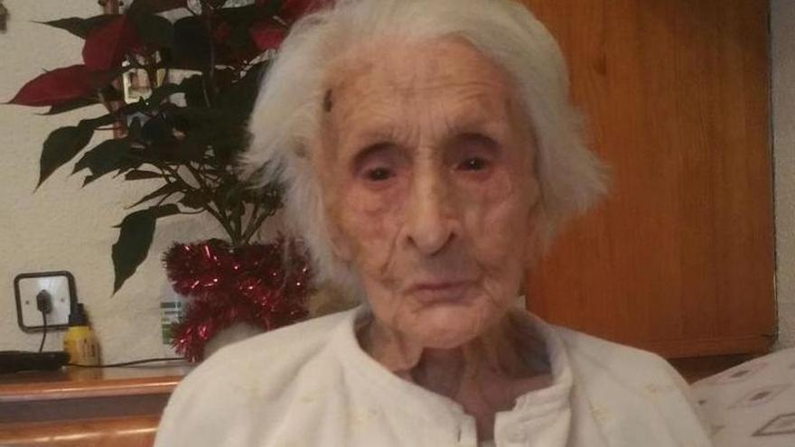 """Fallece a los 102 años """"Marujina"""", la de Sotu Cangues"""