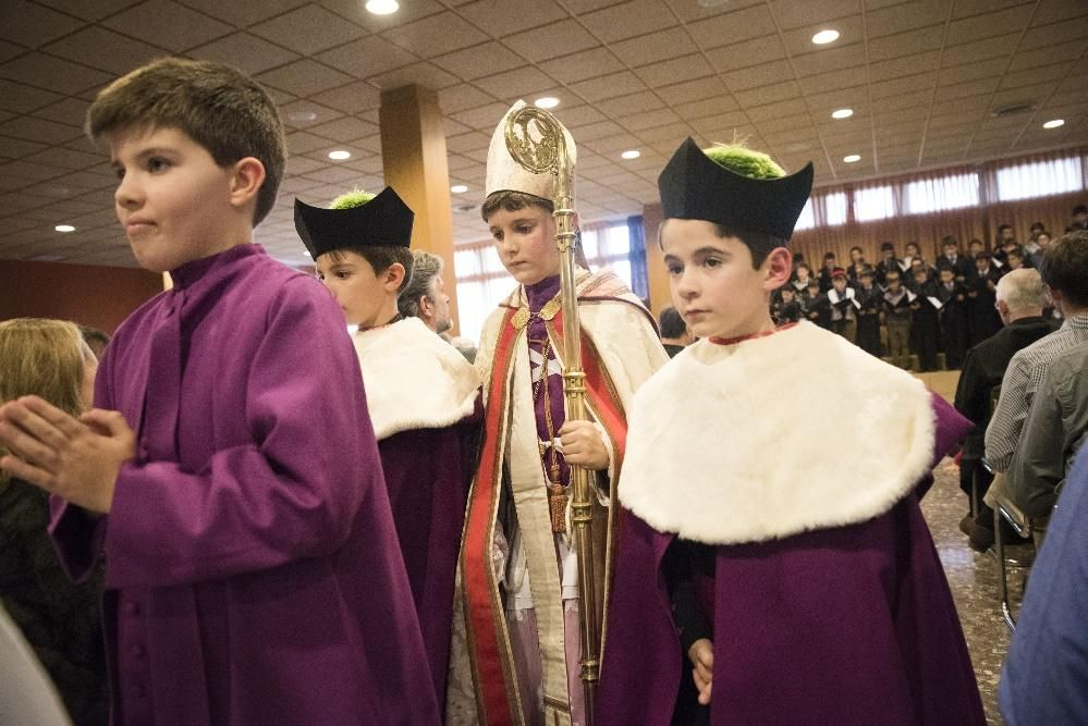 Proclamació del bisbetó de Montserrat