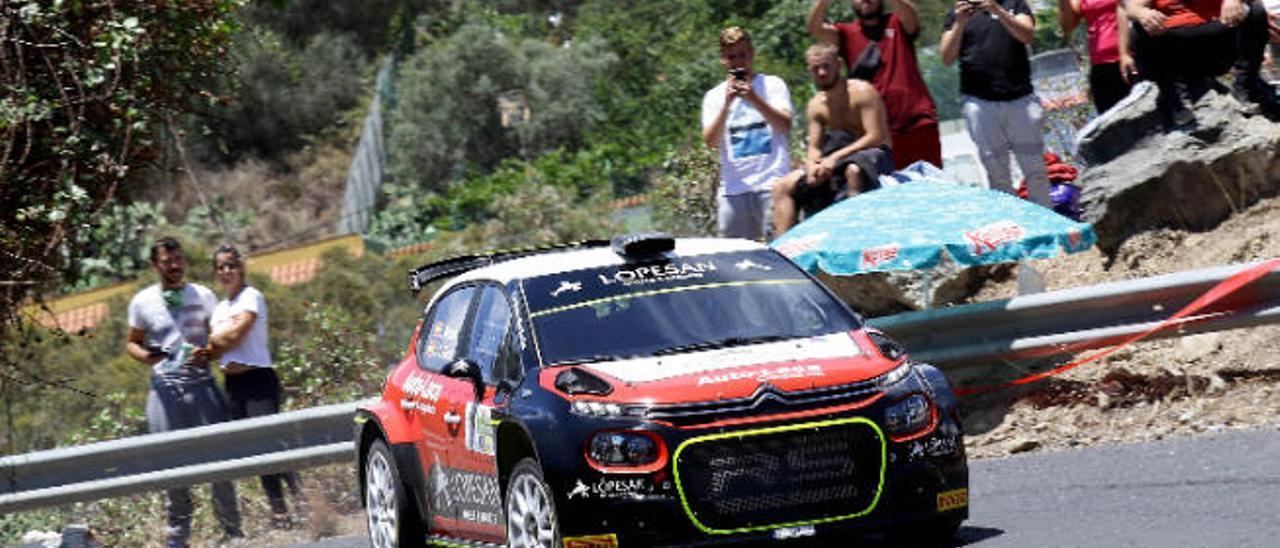 El Rally Isla de Gran Canaria, inicio de lujo para el Regional