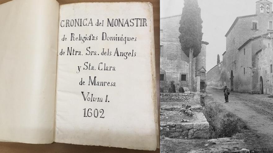 Memòria.cat publica un dietari inèdit de les monges de Santa Clara dels segles XVII al XX
