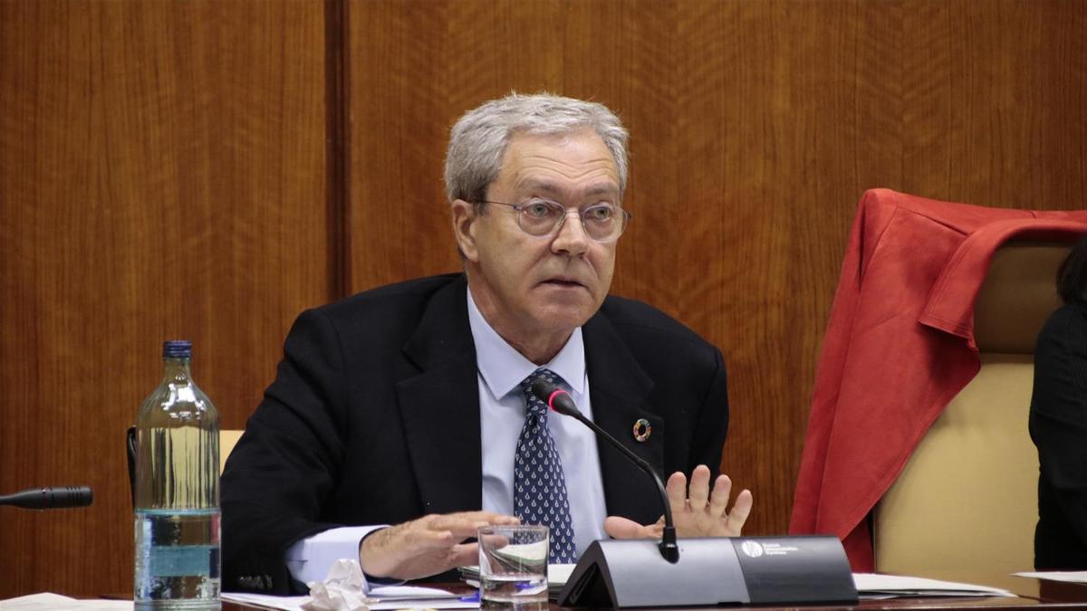 El consejero de Transformación Económica, Industria, Conocimiento y Universidades, Rogelio Velasco.