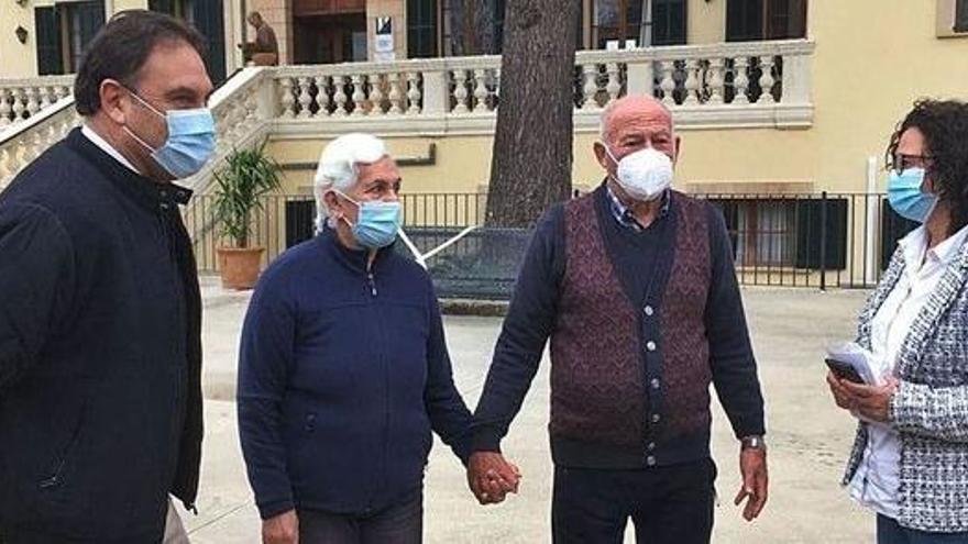 Endlich das Seniorenheim verlassen: So freute sich ein Paar auf Mallorca