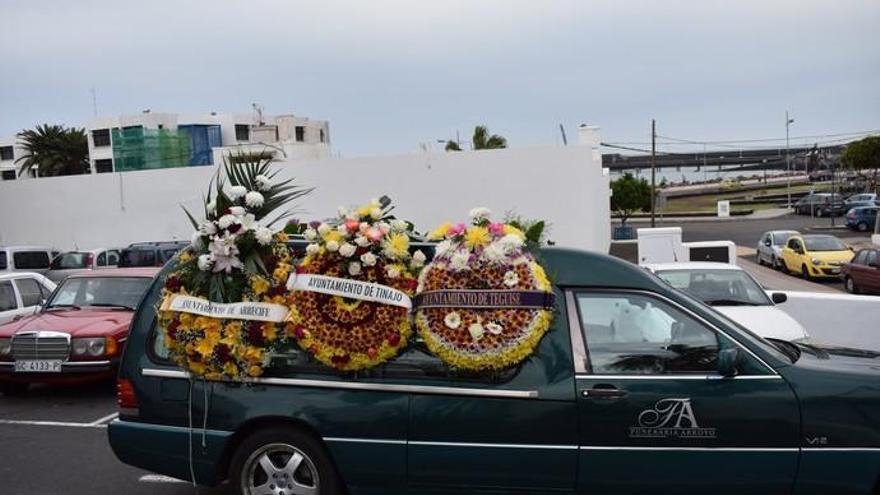 Lanzarote despide a Juan Brito con una folía y 'La saranda'