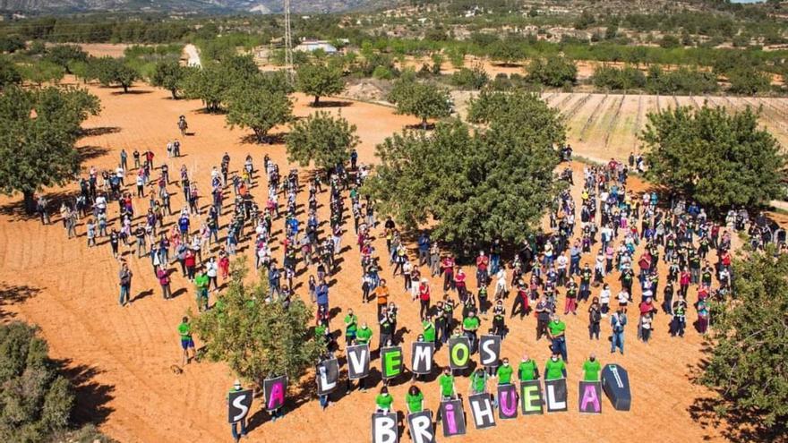 Nueva protesta en Chiva contra la instalación del parque fotovoltaico