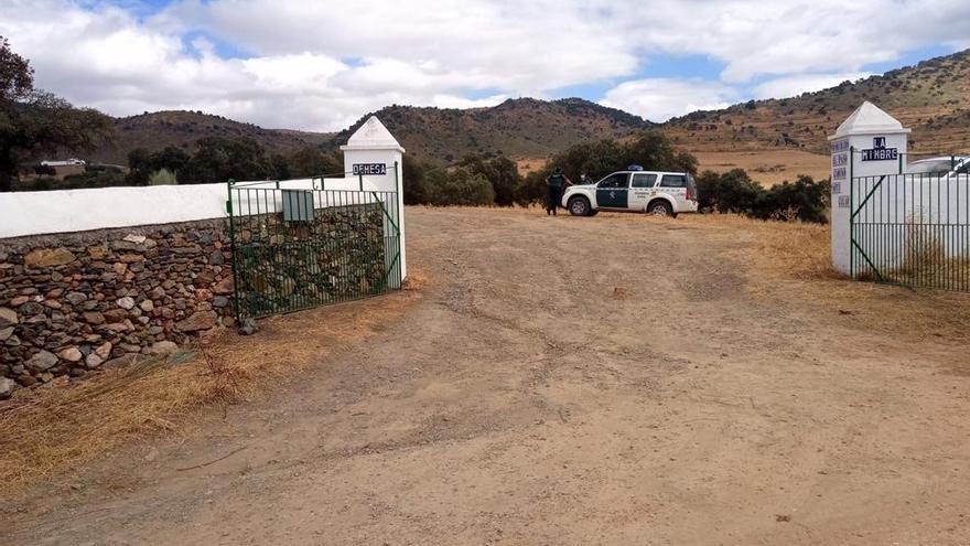 La Guardia Civil acude a otra finca del detenido por la muerte de Manuela Chavero