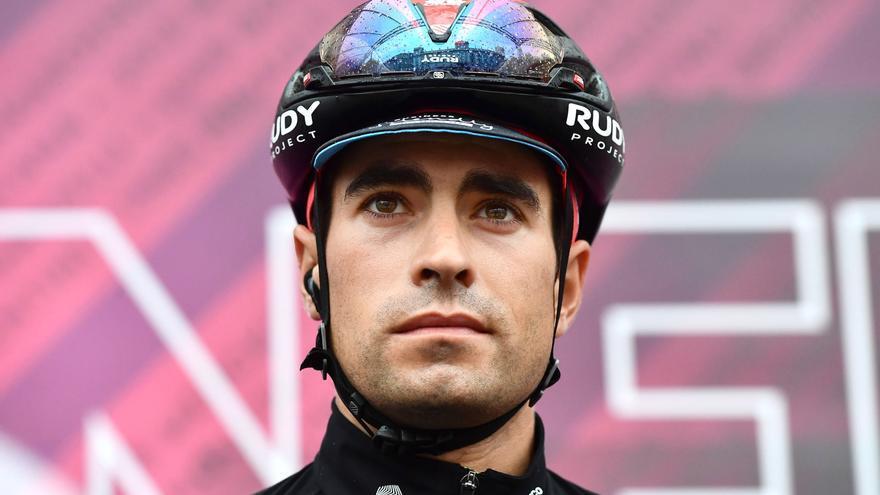 """Landa: """"La preparación no era óptima para esta Vuelta"""""""
