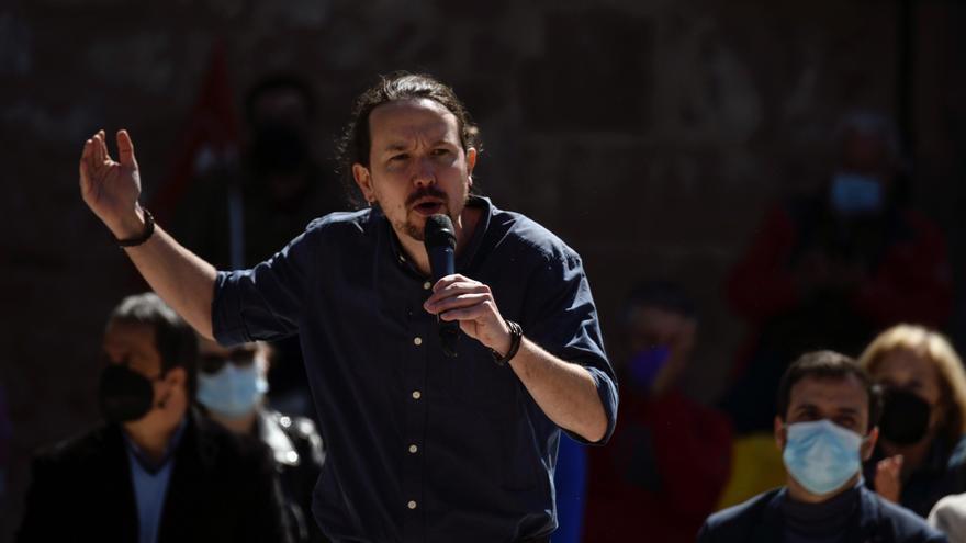 """Pablo Iglesias afirma que la derecha en Madrid """"desprecia lo público"""""""