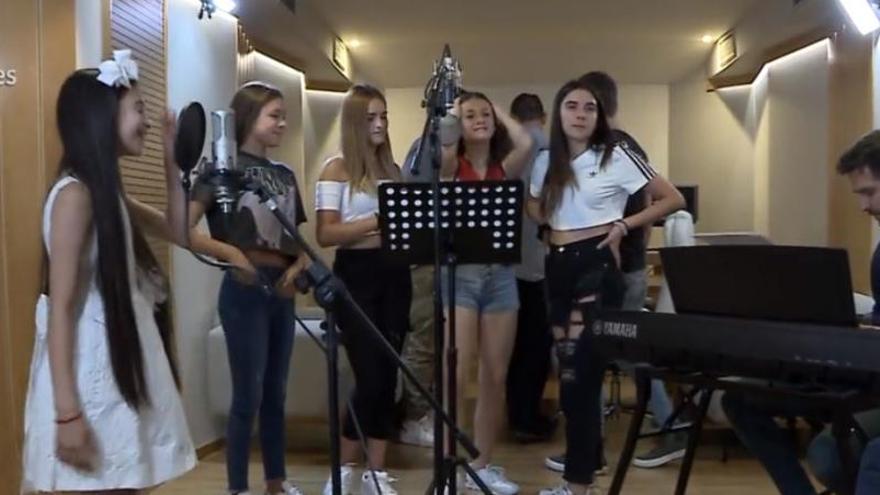 Quatre noies empordaneses participaran a Eurovisión Junior fent costat a Melani