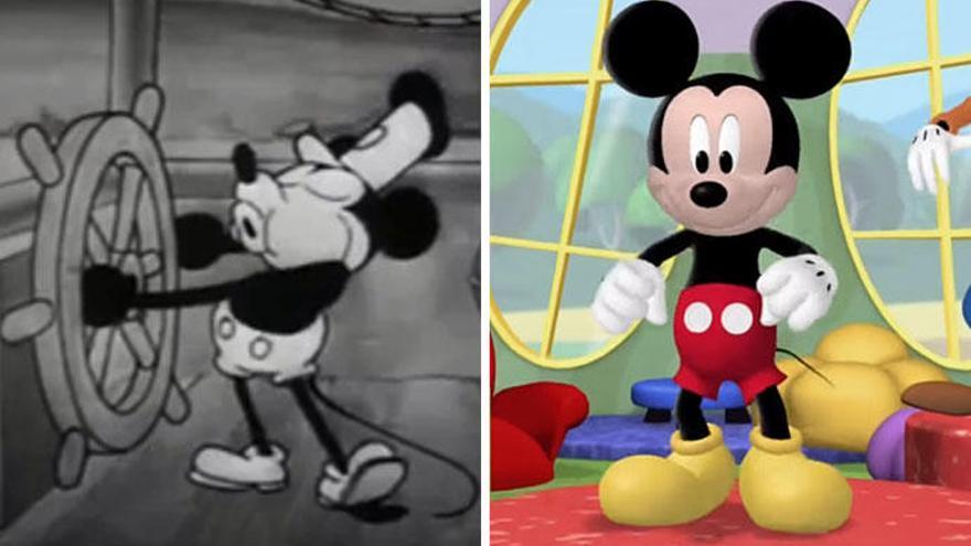 Diez curiosidades del nonagenario Mickey Mouse