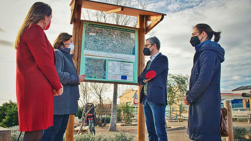 El Consell pondrá en marcha este año 31 kilómetros del anillo verde metropolitano