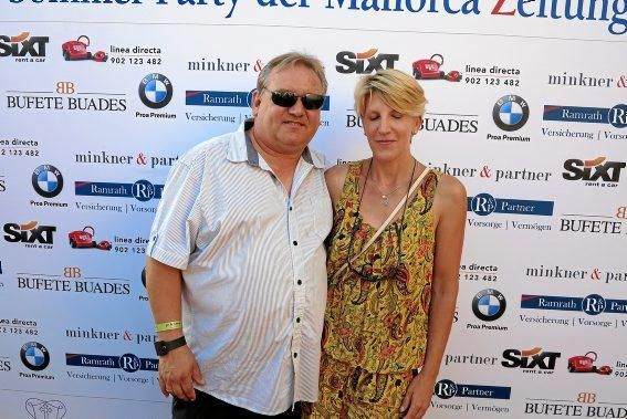 Bernhard und Tanja Stoessel