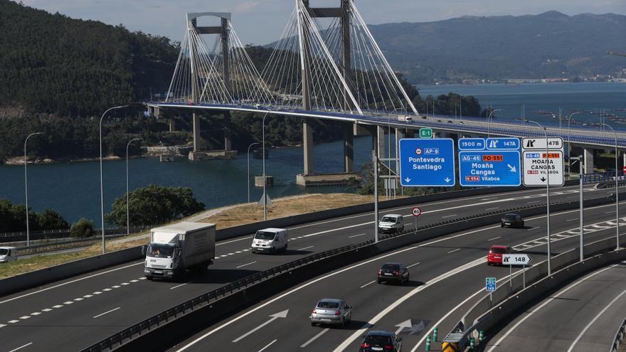 El Gobierno destina 55 millones a abaratar la AP-9 y suprime el peaje entre Vigo y Rande