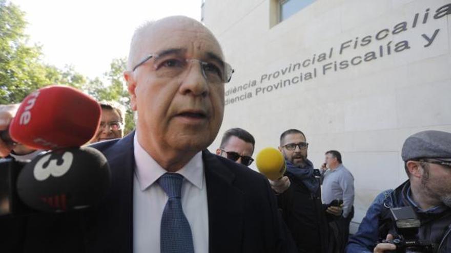 Rafael Blasco, aún pendiente de alcanzar un acuerdo con la Fiscalía