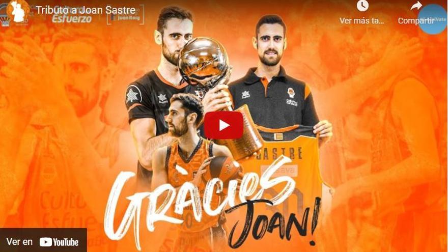 Joan Sastre deja el Valencia Basket y firma por el Lenovo Tenerife