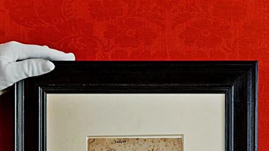 Sotheby's subastará un dibujo de Rubens de un cuaderno de bocetos perdido