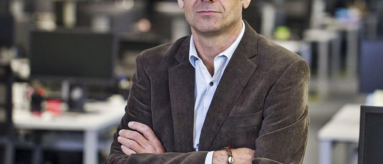 Carlos Luna, director de Intellectual Property & Innovation Industry en Everis. Alex Domínguez