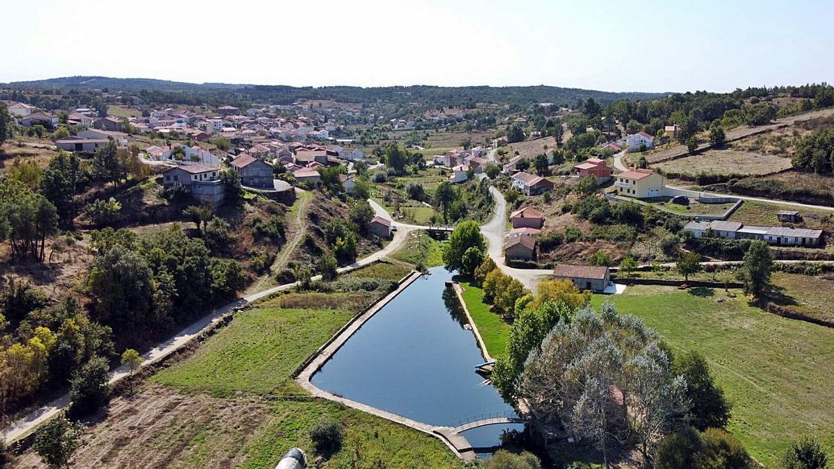 Zona fluvial para el baño en Sao Martinho de Angueira, principal beneficiada de la depuradora. | Ch. S.