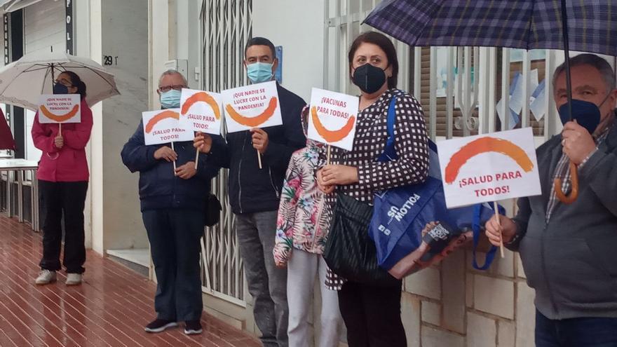 La campaña para liberar las patentes de las vacunas sale a la calle