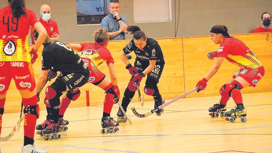El Telecable cae en la semifinales de la OK Liga de Hockey