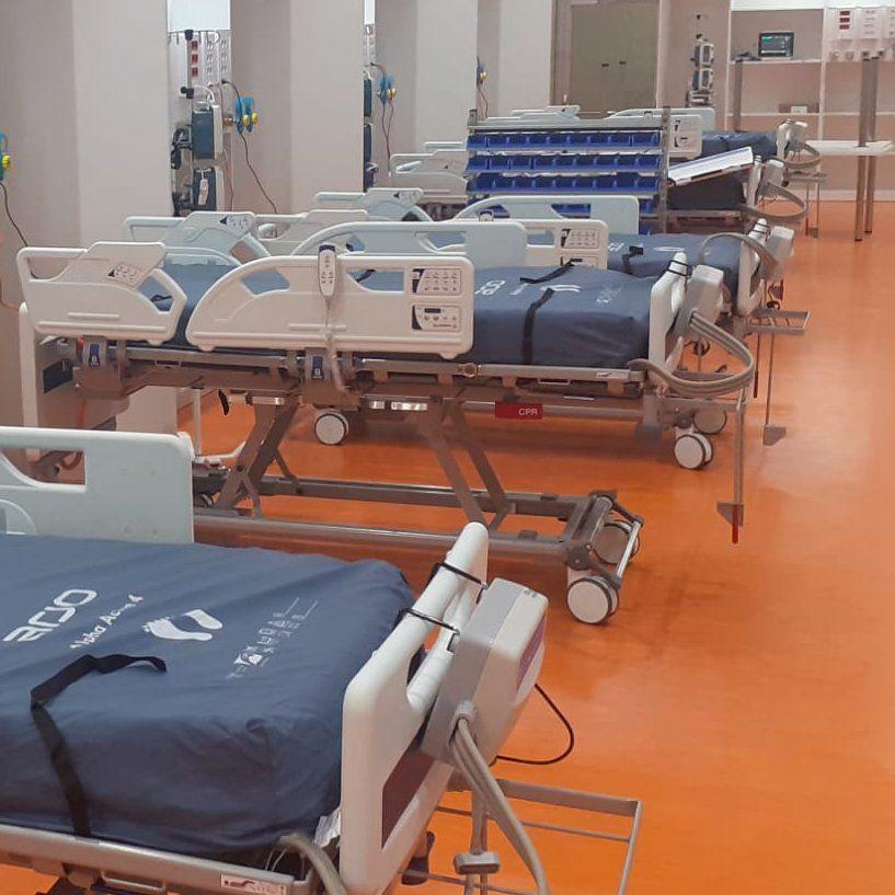 La nueva UCI del HUCA, lista para recibir pacientes