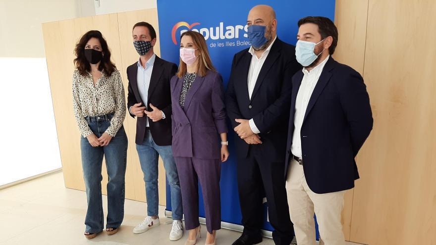 Prohens confía en que Madrid ratificará a Jaime Martínez como candidato a Cort para 2023