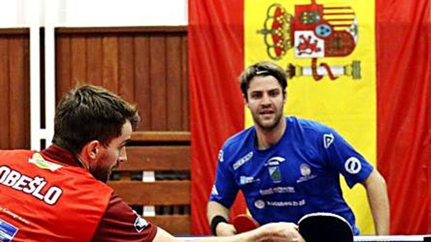 El TM Monte Porreiro debuta en Europa con tres derrotas
